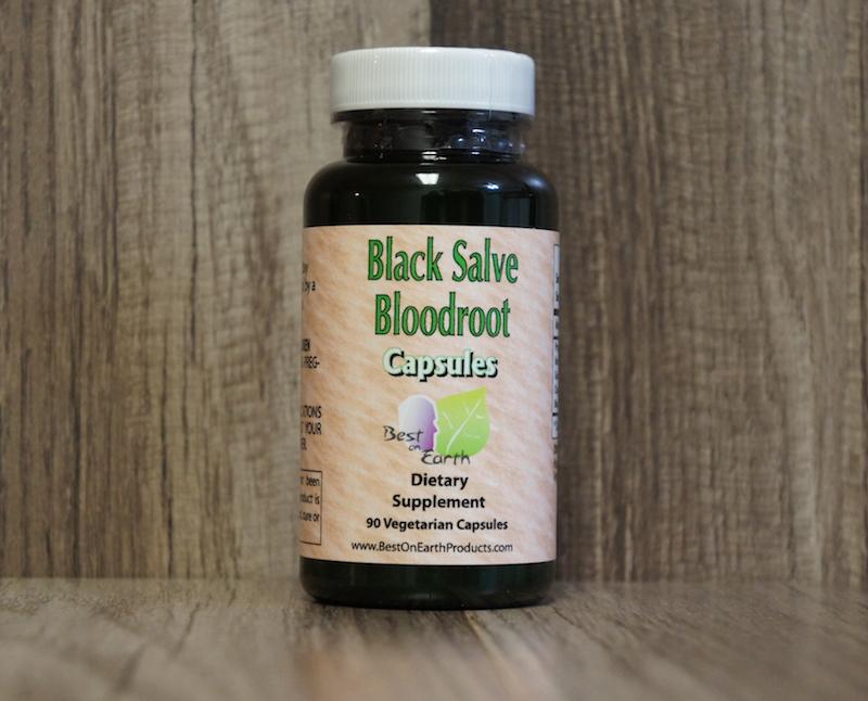Black Salve Bloodroot Capsules